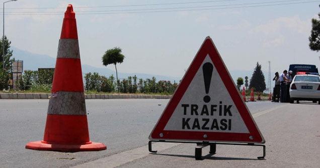 Trafik kazalarında 1'i ağır, 5 kişi yaralandı