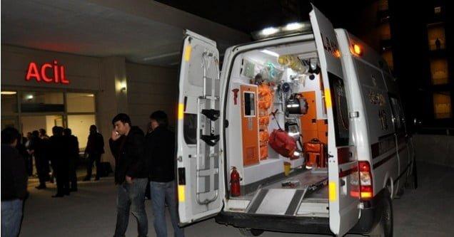 Siverek'te polis aracına silahlı saldırı