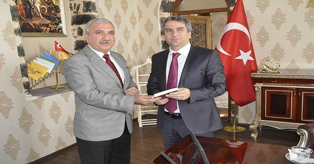Başkan Yardımcısı Baydilli'den Kaymakam Karagül'e ziyaret