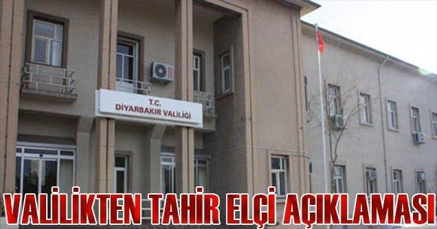 Diyarbakır Valiliği'nden saldırıyla ilgili açıklama