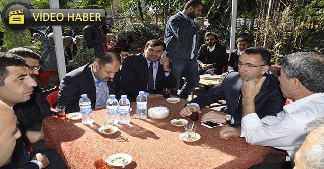 Milletvekili Kasım Gülpınar'dan teşekkür ziyareti