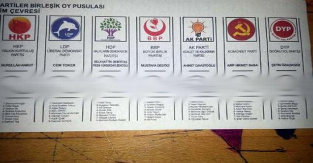 Oy pusulasını paylaşmak gözaltı sebebi olabilir!