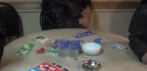 Siverek polisinde kumar baskını