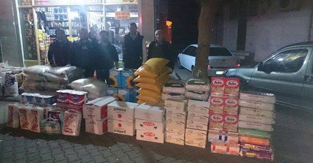 Siverek'te Bayırbucak Türkmenlerine Yardım