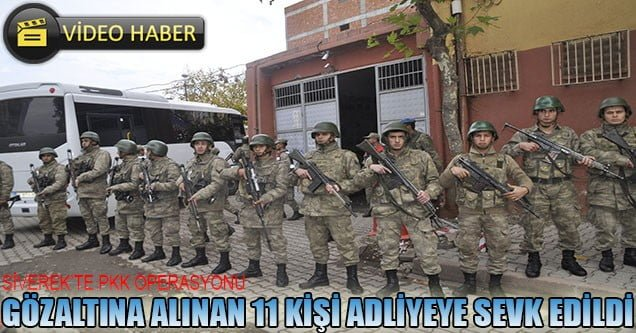 Siverek'te PKK Operasyonu