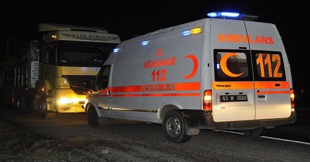 Siverek'te trafik kazası: 2 yaralı