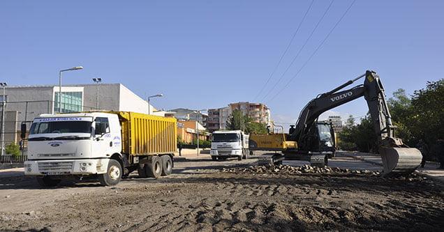 Yenişehir mahallesinde çalışmalar sürüyor