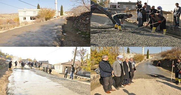 Siverek Belediyesinden Taşıkara (Bitik) mahallesinde çalışma
