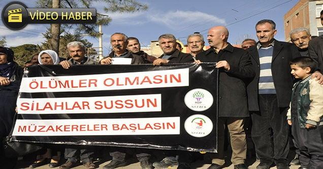 HDP Sokağa Çıkma Yasaklarını Protesto Etti