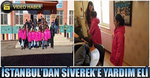İstanbullu öğrencilerden Siverekli öğrencilere yardım eli