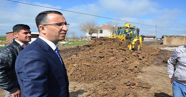 Siverek Belediyesi Kırsal Mahalle Çalışmaları Sürüyor