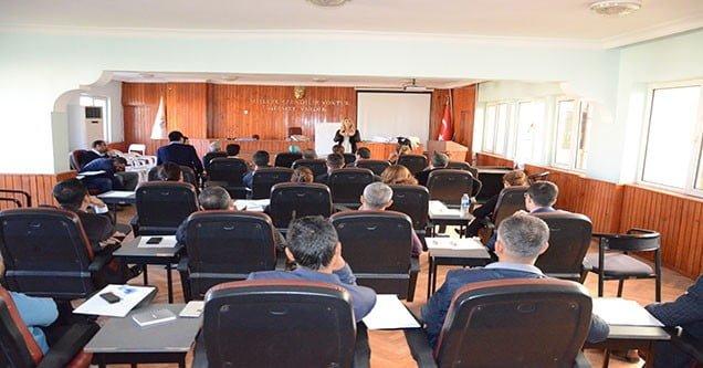 Siverek Belediyesi personeline eğitim