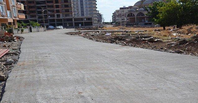 Siverek Belediyesinden 150 Bin m2 beton çalışması