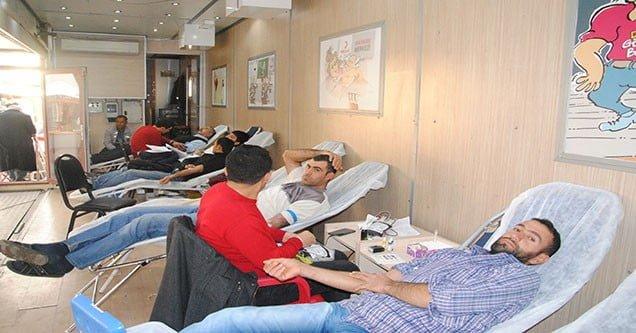 Siverekli vatandaşlardan kan bağışına yoğun ilgi