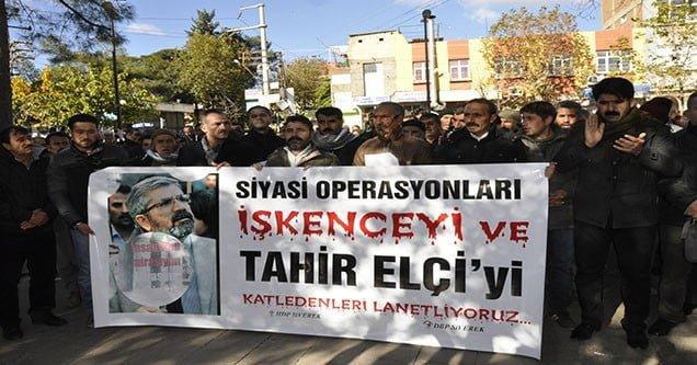 Siverek'te Tahir Elçi'nin Öldürülmesi Protesto Edildi