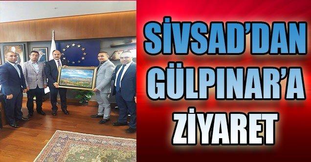 SİVSAD'dan Gülpınar'a Ziyaret