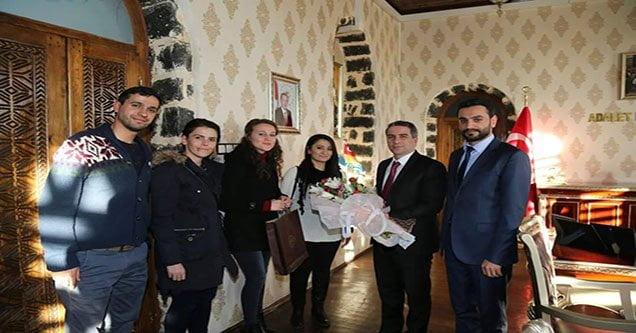 Türk Eğitim-Sen'den Kaymakam Karagül'e Ziyaret