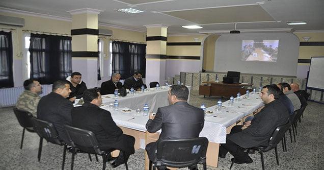 Siverek'te planlama ve işbirliği toplantısı