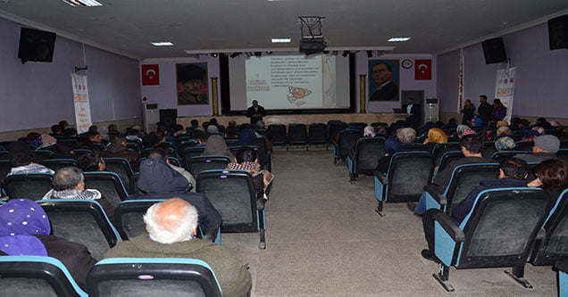 Siverek'te iş güvenliği semineri