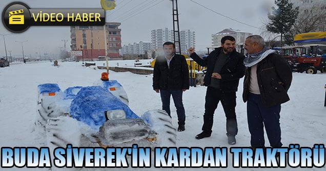 Buda Siverek'in Kardan Traktörü