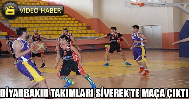 Diyarbakır Takımları Siverek'te Maça Çıktı