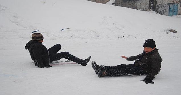 Kar Yağışına En Çok Onlar Sevindi