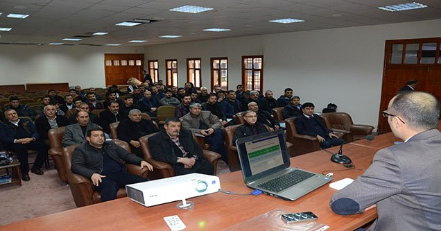Siverek'te Kırsal Kalkınma Toplantısı