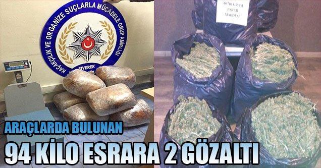 Siverek'te Uyuşturucu Operasyonu: 2 Gözaltı