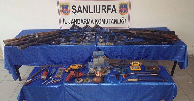 Birecik'te Silah Kaçakçılığı