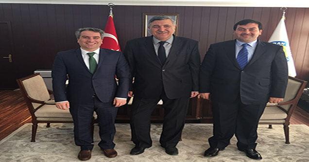 İlçe Kaymakamı Dr. Vural Karagül'ün ziyareti