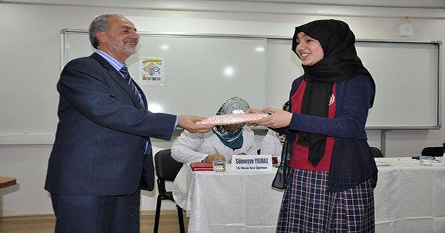 """Siverek'te """"Kur'an-ı Kerim Tilaveti"""" Yarışması"""