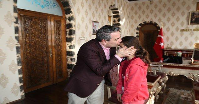 Ebru Keskiner'den Kaymakama Ziyaret