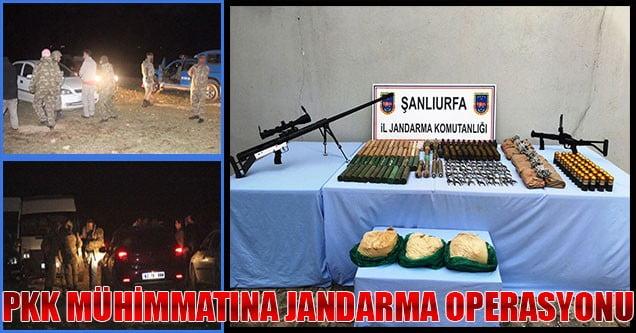 PKK'ya Giden Mühimmata Jandarma Operasyonu