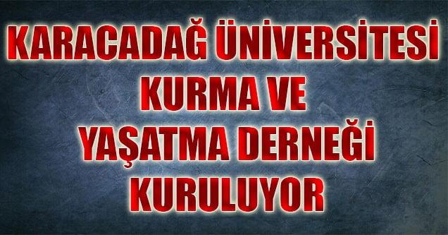 Siverek'te 'Karacadağ Üniversitesi' Derneği Kuruluyor