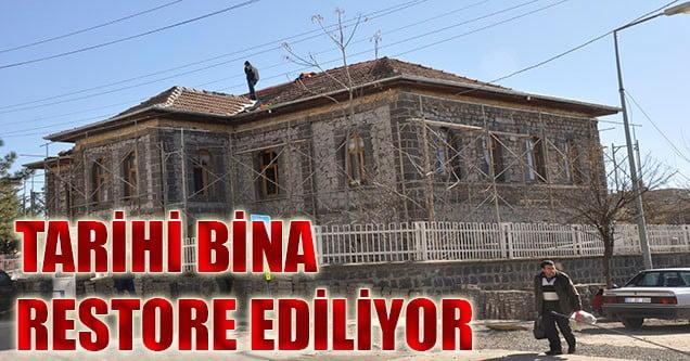 Tarihi Binada Restorasyon Başlatıldı