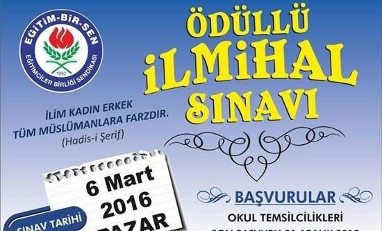 SİVEREK'TE İLMİHAL SINAVI YAPILACAK