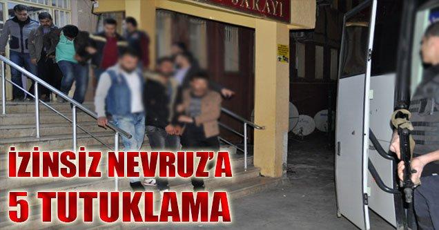 Siverek'te İzinsiz Nevruz Kutlamasına 5 Tutuklama