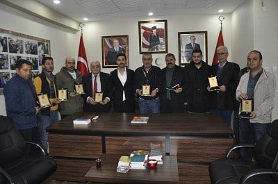 Milliyetçi Hareket Partisi (MHP)'den Siverek sevdalılarına plaket
