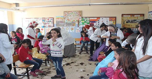 Siverek'te öğrencilere ücretsiz saç bakımı hizmeti