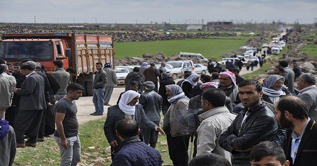 Siverek'te Askeri Aracın Geçişi Sırasında Patlama