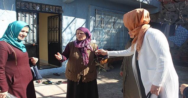 Yaşlı ve Kimsesiz Kadınlara Ziyaret