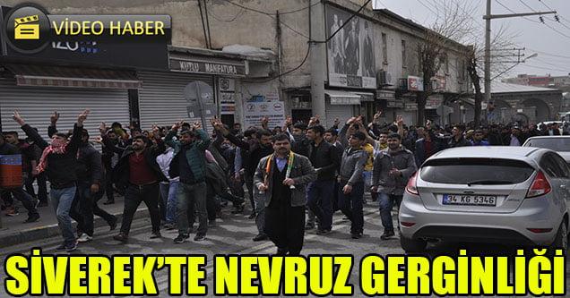 Siverek'te izinsiz Nevruz kutlamasına polis müdahalesi
