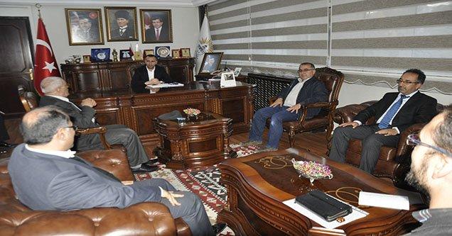Belediye Başkanı Yılmaz'ın Kabulü