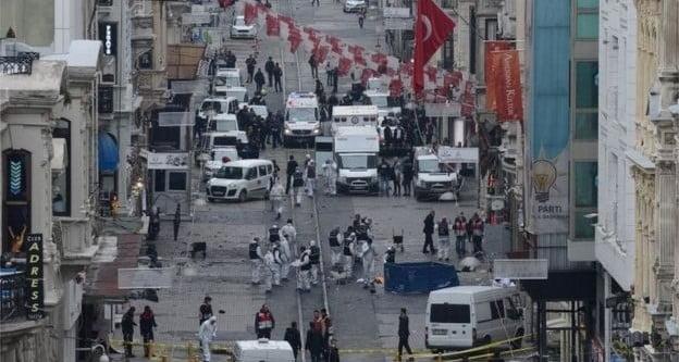 İstiklal Caddesi'nde Canlı Bomba Saldırısı: 5 Ölü, 36 Yaralı