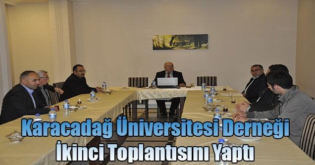 Karacadağ Üniversitesi Derneği İkinci Toplantısını Yaptı