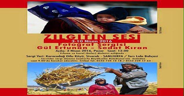 Karacadağ'da Fotoğraf Sergisi