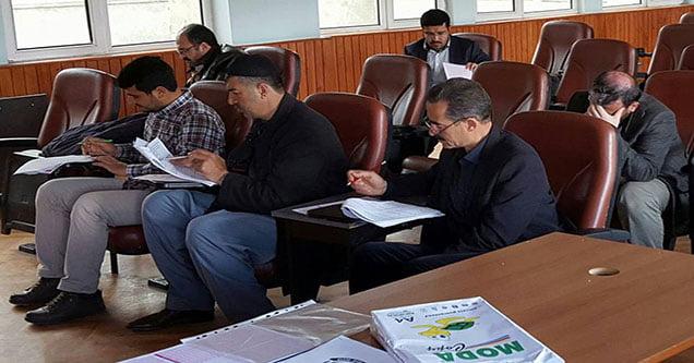 Siverek'te imamlar 'deneme' sınavına girdi
