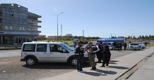 Şanlıurfa Siverek Güzergahında Geniş Çaplı Güvenlik Önlemi Alındı
