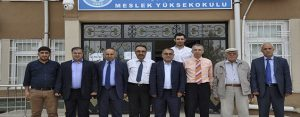 Karacadağ Üniversitesi Kurma ve Geliştirme Derneği'nin Ziyaretleri