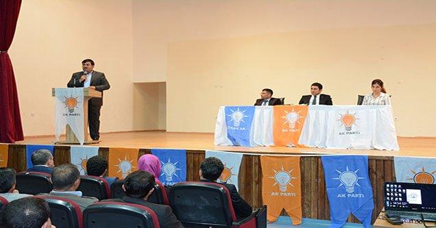 Siverek AK Parti'de Danışma Meclisi Toplantısı Yapıldı